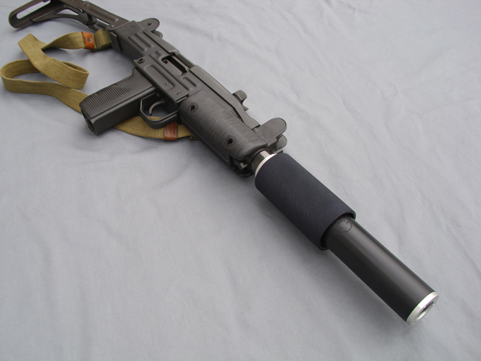 UZI Carbine Fake Suppressors
